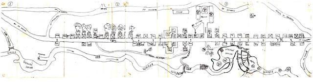 Карта Танайки, нарисованная неизвестным автором.Прислал Виктор Шнейдер (vikt.shnejder@yandex.ru).